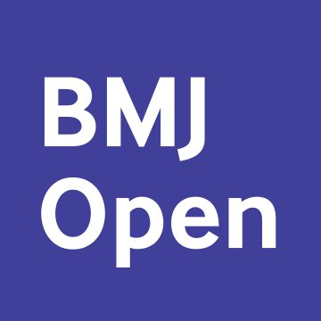 The British Medical Journal Open, in press March 2018, http://dx.doi.org/10.1136/bmjopen-2017-018774